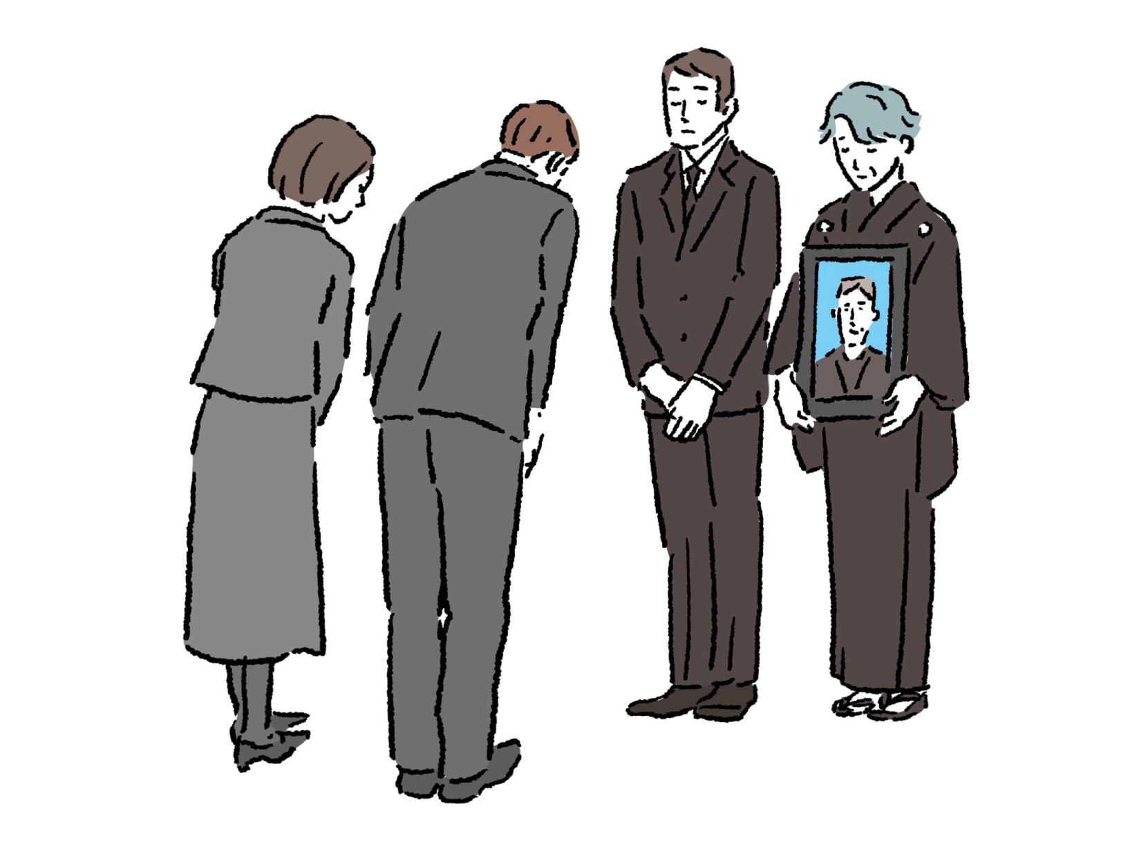お葬式での親族