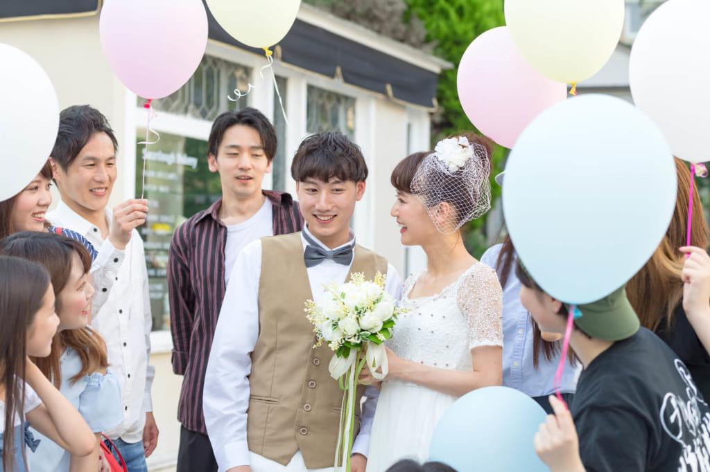 カジュアルな結婚式