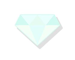 わずかに黄味色のダイヤ