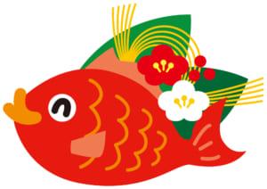 酒肴・鯛イラスト