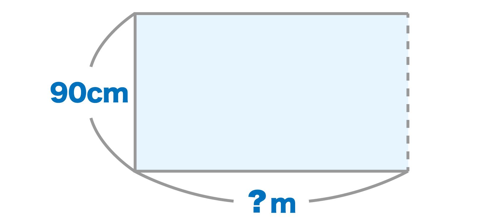 メートル単価は幅90センチのクロスが何メートル使われるかで値段が変わる