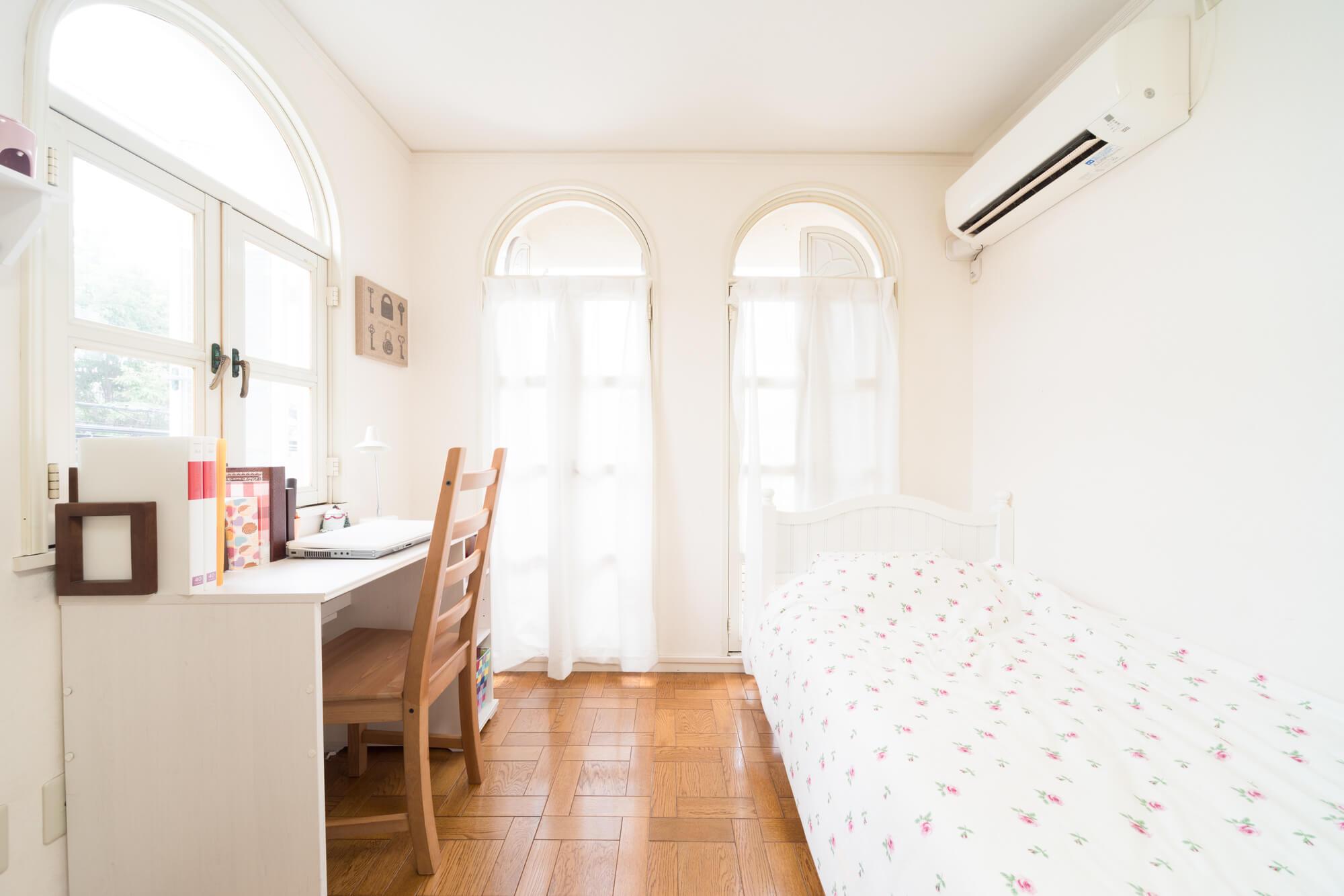 一人暮らしのワンルームや寝室、子供部屋