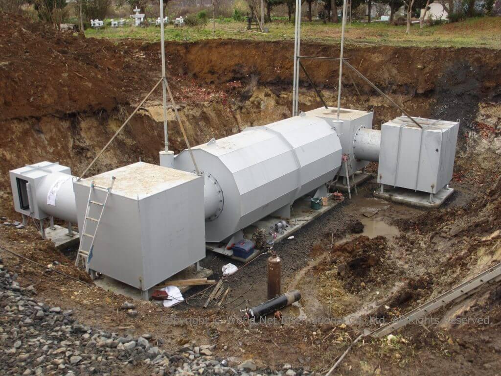 家庭用地下埋め込み型シェルター